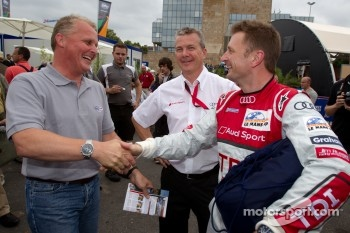 Johnny Herbert and Allan McNish
