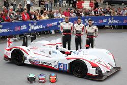 #41 Greaves Motorsport Zytek Nissan: Karim Ojjeh, Tom Kimber-Smith, Olivier Lombard