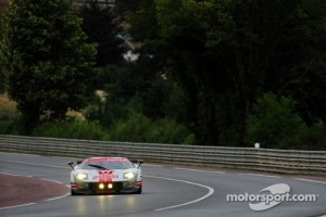#68 Robertson Racing Ford GT-Doran: David Robertson, Andrea Robertson, David Murry