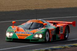 帕特里克·丹普西驾驶1991年勒芒24小时冠军车马自达787B