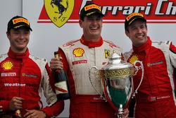 Ferrari of Ft. Lauderdale Ferrari 458 Challenge: Enzo Potolicchio, Ferrari of Houston Ferrari 458 Challenge: Mark McKenzie, Ferrari of Houston Ferrari 458 Challenge: Cooper MacNeil