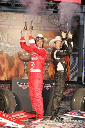 Dario Franchitti, Target Chip Ganassi Racing, Will Power, Team Penske