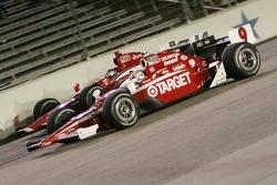 Scott Dixon, Target Chip Ganassi Racing, Vitor Meira, A.J. Foyt Enterprises