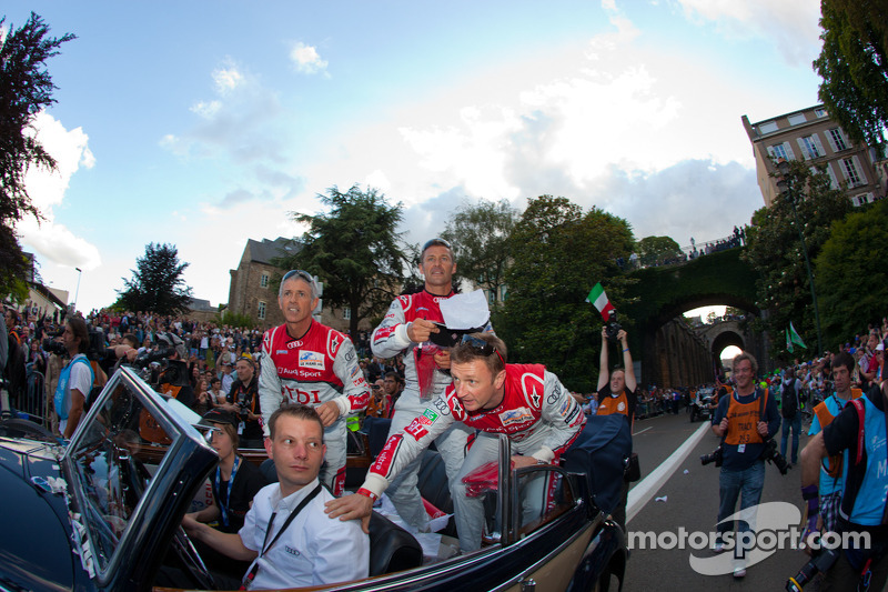 Rinaldo Capello, Tom Kristensen, Allan McNish