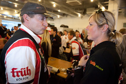 Klaus Abbelen and Sabine Schmitz