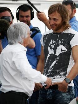 Bernie Ecclestone, David Guetta, DJ
