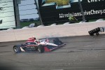 Trouble for James Jakes, Dale Coyne Racing
