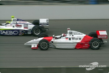 Buddy Lazier and Gil de Ferran