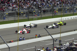 Helio Castroneves leading the field