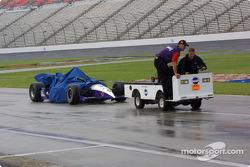 Eliseo Salazar's car under cover