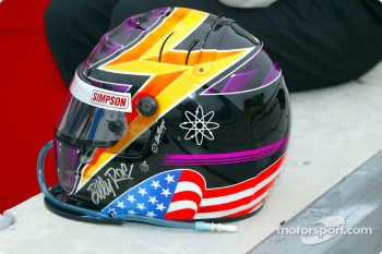 Billy Roe's helmet