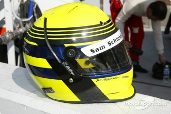 Richie Hearn's helmet