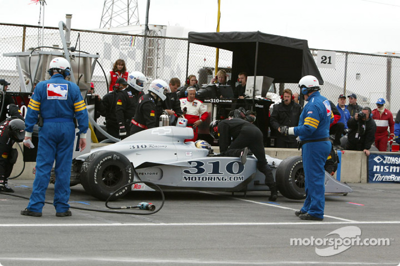 Pitstop for George Mack