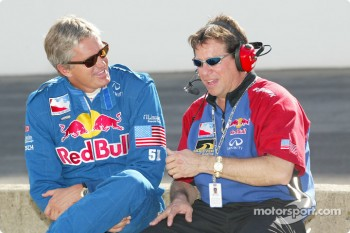 Eddie Cheever and Owen Snyder III