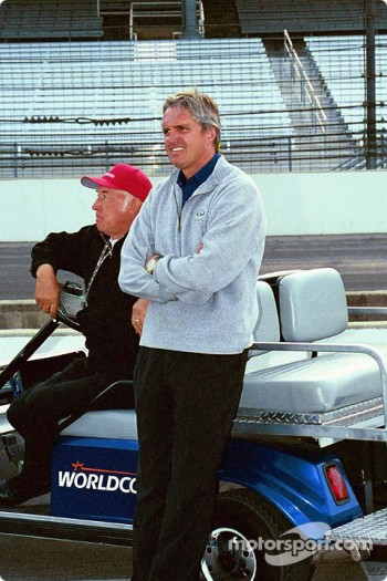 Mo Nunn and Eddie Cheever