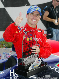 Race winner Felipe Giaffone
