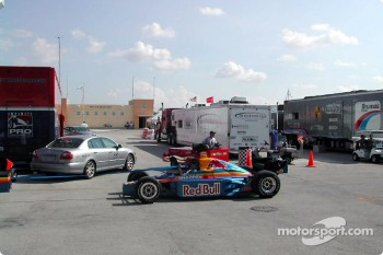 Red Bull Cheever Racing car