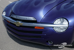 Chevy SSR grille and front end