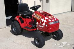 A racing Toro tractor