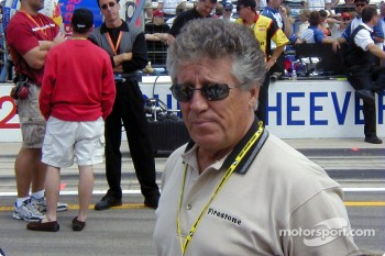 Mario Andretti looking at you like you are a complete idiot