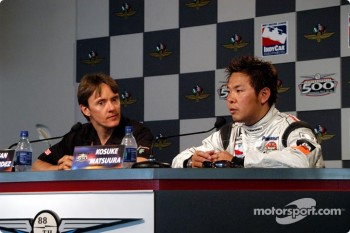 Press conference: Adrian Fernandez and Kosuke Matsuura