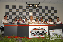 Rahal-Letterman Racing, winners of Pit Stop Challenge