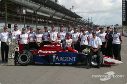 Buddy Rice, Bobby Rahal and his team