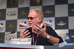 INDYCAR: Press conference: David Letterman