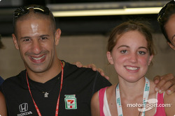 A happy Tony Kanaan