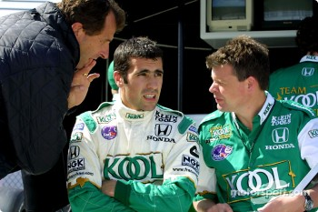 Dario Franchitti and Barry Greene