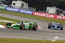 Dario Franchitti and Patrick Carpentier