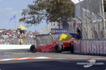 Jimmy Vasser in trouble