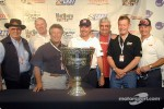 Champ car legends: Wally Dallenbach, Tom Sneva, Mario Andretti, Rick Mears, Joe Leonard, Bobby Unser and Parnelli Jones