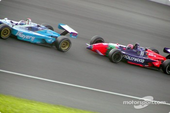 Alex Tagliani and Tony Kanaan