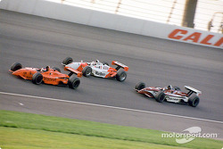 Jimmy Vasser, Gil de Ferran and Casey Mears