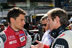 #8 Audi Sport Team Joest, Audi R18 e-tron quattro: Loic Duval und Pascal Vasselon, Toyota-Technikchef