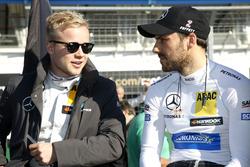 Felix Rosenqvist, Mercedes-AMG Team ART, Mercedes-AMG C 63 DTM DTM; Gary Paffett, Mercedes-AMG Team ART, Mercedes-AMG C63 DTM