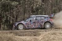 Citroën C3 WRC 2017, test di ottobre