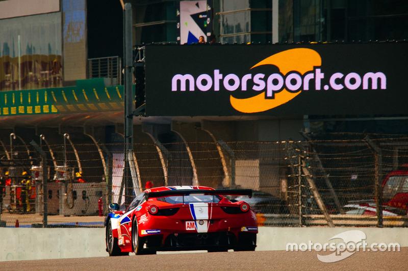 2. LMGTE-Am: #83 AF Corse, Ferrari 458 Italia