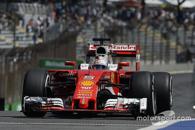 5. Sebastian Vettel, Ferrari SF16-H