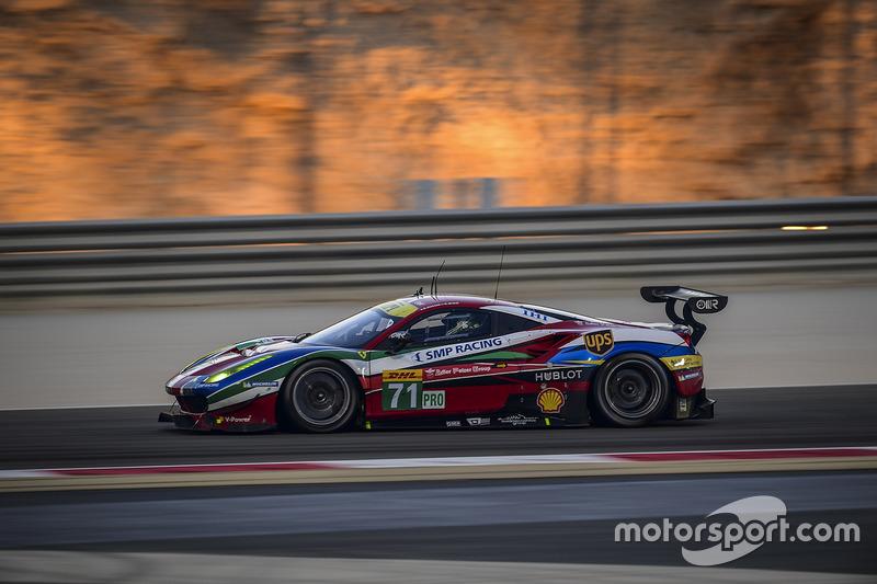 3. LMGTE-Pro: #71 AF Corse, Ferrari 488 GTE: Davide Rigon, Sam Bird