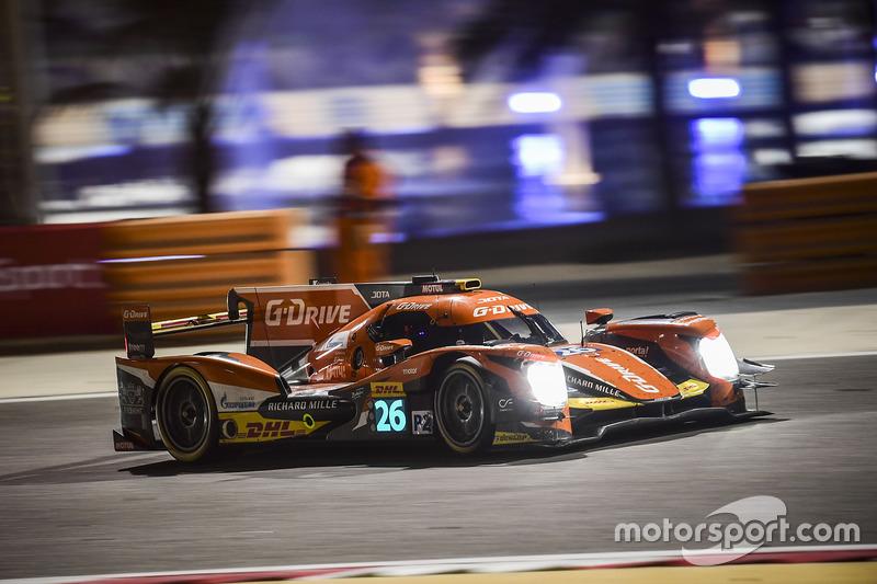 1. LMP2: #26 G-Drive Racing, Oreca 05 - Nissan: Roman Rusinov, Alex Brundle, René Rast
