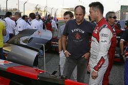 Gerhard Berger, André Lotterer, Audi Sport Team Joest
