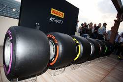 The 2017 Pirelli F1 tyres