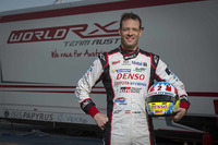 Alex Wurz World RX Team Austria test