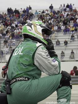 Team Kool Green crew member