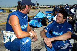 Alex Tagliani and Patrick Carpentier