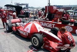 Bruno Junqueira's Target car