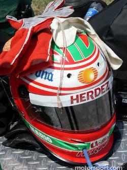 Mario Dominguez helmet