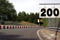 Exiting curve 5